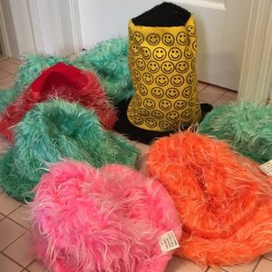 SET OF 8 FUNKY COSTUME HATS